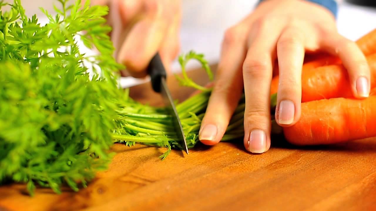Рецепты из ботвы от моркови