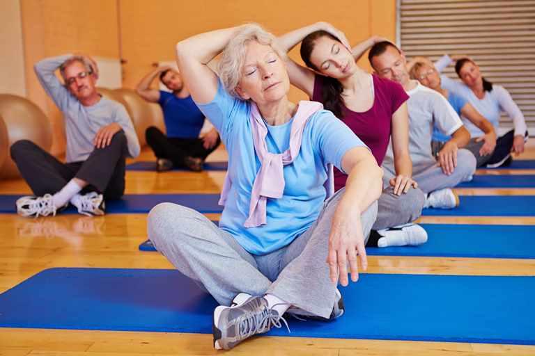 Физкултура как профилактика атеросклероза