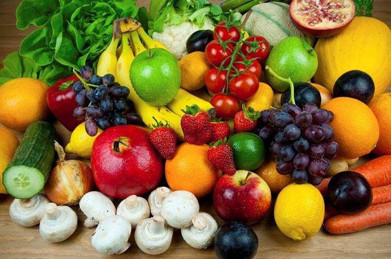 Овощи, фрукты и различные каши должны составлять основной ваш рацион