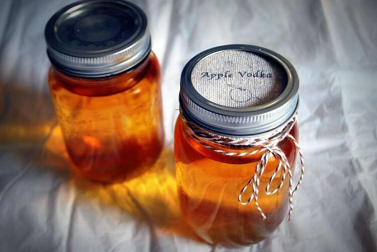 Рецепт настойки из яблок