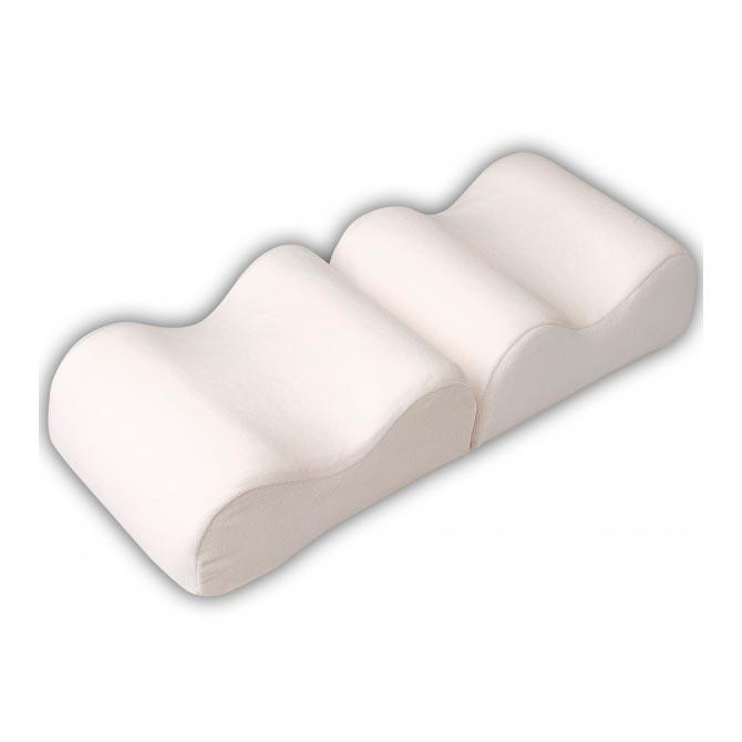 Белая подушка для ног