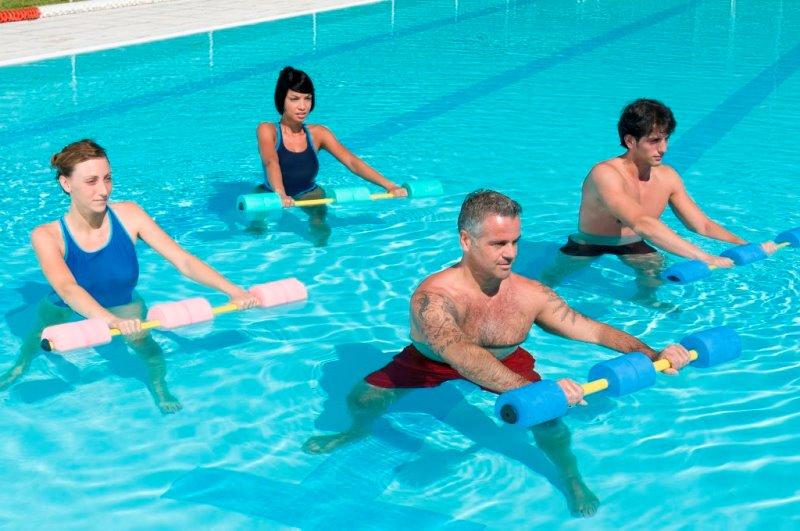 Общеоздоровительная гимнастика в воде