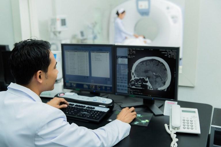 пример провидения компьютерной томографи