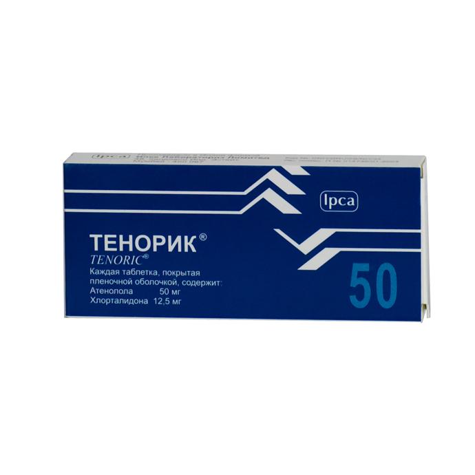 Упаковка таблеток Тенорик