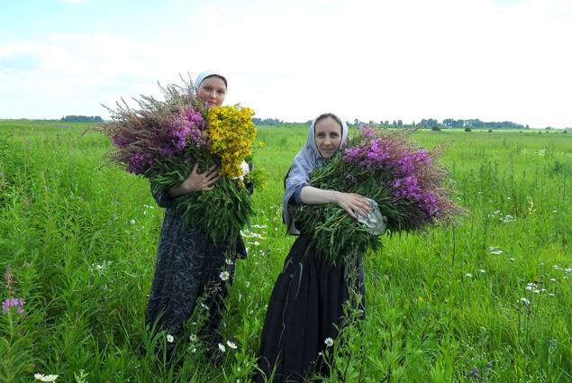 Женщины с травами