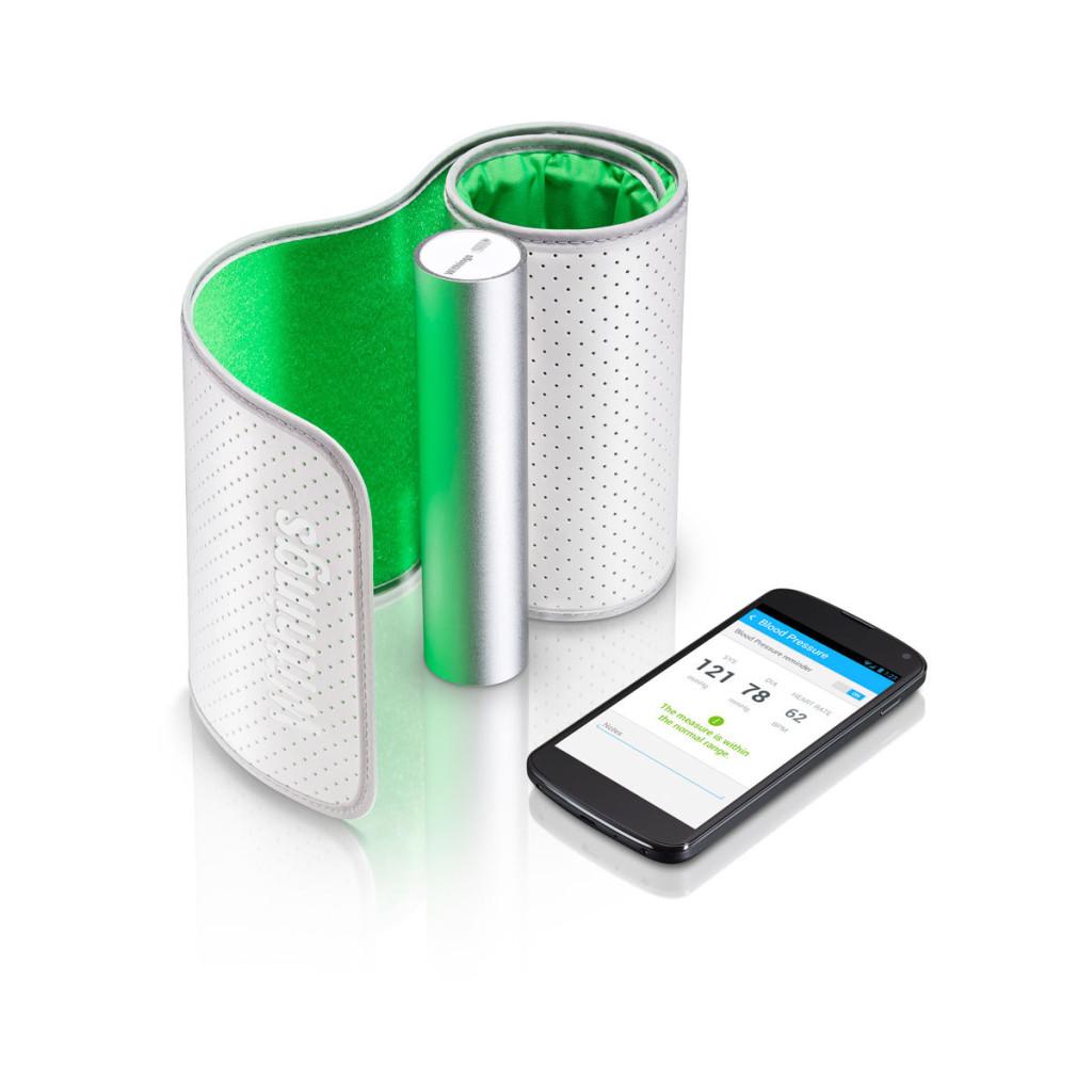 Тонометр который подключен к смартфону