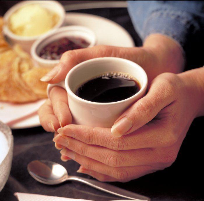 Употребление кофе повышает давление