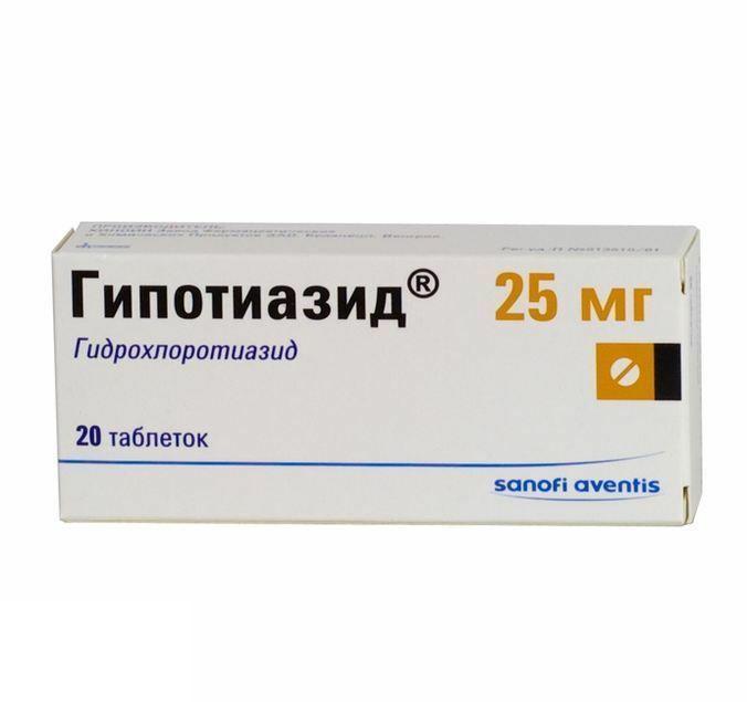 Препарат Гидрохлортиазид для лечения