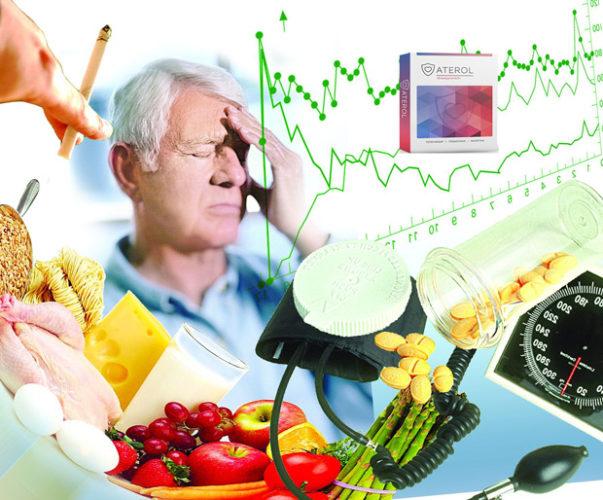 К результатам действия Aterol(а) также можно отнести: снижение веса, уменьшение артериального давления, улучшение кровообращения и как следствие улучшение работы печени, сердца, почек