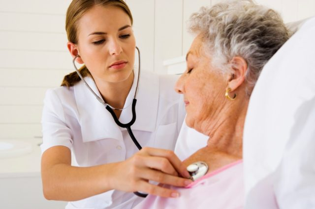 Так, больные испытывают более длительные и интенсивные загрудинные боли, которые хуже поддаются лечению нитроглицерином, а иногда и вообще не проходят