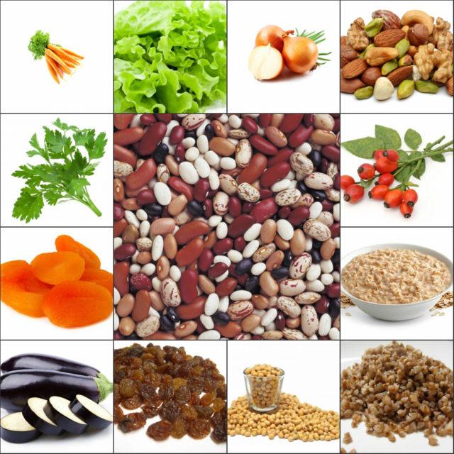Рекомендуется есть салаты и пить соки из свежих фруктов и овощей. Следует употреблять в пищу больше продуктов, богатых калием